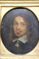 Michiel Jansz van Mierevelt 1567- 1641 Portrait Öl auf Blech