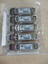 5 X Cisco Systems 10-3107-01 SFP 1310nm 10km Dom Transceiver Modules