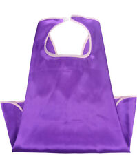 Satin Boys & Girls Superhero Single Side Cape + Mask (Purple)