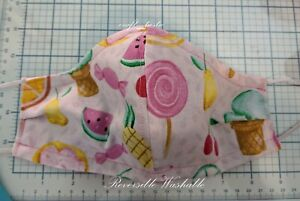 Reversible Working Surgical Doctor Nurses Ponytail Slouch Scrub Hat ~ Cap