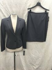 "TAHARI BY ARTHUR LEVINE SKIRT SUIT/GREY/SIZE 8/NEW/LINED/RETAIL$280/SKIRT 24""/"