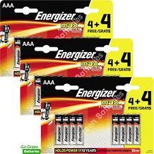 24 x Energizer AAA MAX Alkaline Powerseal Batteries - LR03 MX2400 MN2400 MICRO