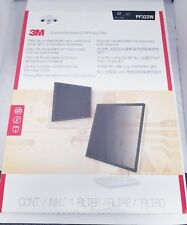 """3M PF322W Framed Privacy Filter for Widescreen Desktop LCD 22"""" Monitor"""