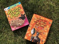 Limited Travis Scott X Reeses Puffs Cereal - Family Sized - Astro Sold Out Rare!