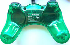 INTERACT GAMEPAD COLOR CONTROLLER FOR SONY PLAYSTATION PS1 CLEAR GREEN ~ P107GSM