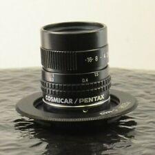 Cosmicar Pentax TV Lens 25mm f/1.4