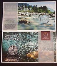5 euros AUSTRIA - silver - LAND OF WATER – 2013 – Land des wassers