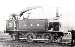 1935 RP POSTCARD: NER GATESHEAD WORKS SHUNTER NOW STANDING AT SEATON DELAVAL