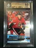 2016-17 Upper Deck Thomas Chabot Young Guns Rookie BGS 9.5