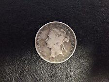 1872H Canada 25 Cents Victoria Silver