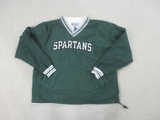 VINTAGE Chmapion Michigan State Spartans Jacket Adult Extra Large Green Football