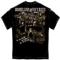 Homeland Security Gildan T-Shirt - PreShrunk Cotton - 6 Sizes