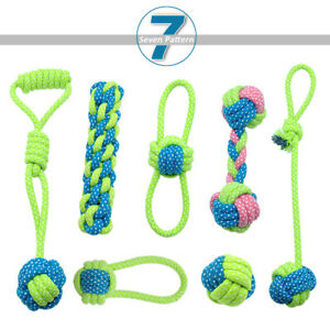Braided Rope Dog Toys Durable for Aggressive Chewers Interactive Large Big Dogs