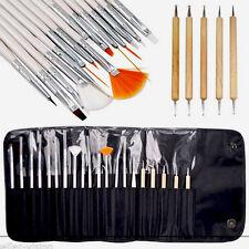 20pcs Nail Art Design Set Dotting Painting Drawing Polish Brush Pen Tools USEFUL