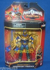 Power Rangers Mystic Force Solaris Knight To Legendary Phoenix New Factory Seal