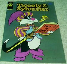 Tweety and Sylvester 104, NM- (9.2) 1980, 50% off Guide!