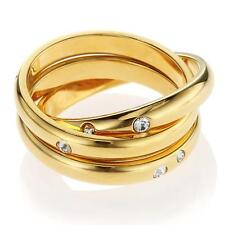 New Morellato Go For the Gold Ring Set ~ Size 5