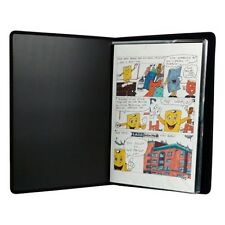 13 x 19 inch Comic Book Art Presentation Portfolio 48 pgs nylon stitching.