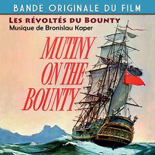 CD Les Révoltés du Bounty (Mutiny On The Bounty) Bande Originale du Film BOF OST