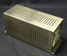 Alimentatore stabilizzato a ferro saturo 220Vac/ 24Vdc 12,5A chassis INOX