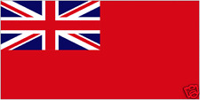 """RED ENSIGN (RED DUSTER)  18"""" x 12"""" Flag (45 x 30cms)  Navy, Boat, Caravan"""
