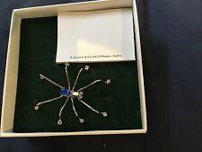 Swarovski Crystal Memories Spider Pin