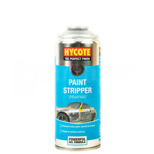Hycote Car Paint Stripper Spray Powerful Gel Formula Lacquer Remover 400ml