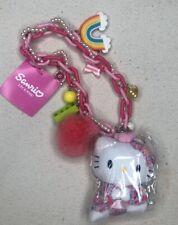 Hello Kitty Schlüsselanhänger Taschenanhänger Autoanhänger Pink Roses NEU OVP