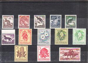 AUSTRALIA  1959-61  DEFINITIVE SET MNH VF
