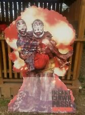 6' x 4' Insane Clown Posse ICP Cardboard Stand Up  Bang Pow Boom