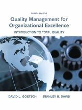 (Electronic Book) Quality Management for Organizational Excellence 8th Edition