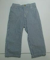 TODDLER BOYS RALPH LAUREN BLUE STRIPED SEERSUCKER DRESS PANTS SIZE 18 MONTHS