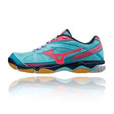 Chaussures de fitness, athlétisme et yoga bleus Mizuno pour femme