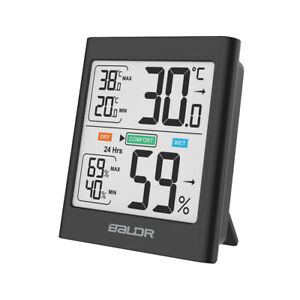 Baldr B135 Digital Indoor Thermometer Hygrometer Motion Sensitive Humidity Meter