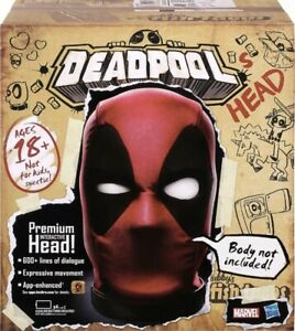 Marvel Legends Deadpool's Head Premium Interactive, with 600+ SFX and Phrases