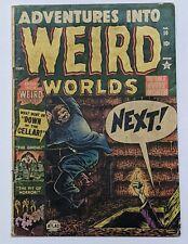 Adventures into Weird Worlds #10 (Sept 1952, Atlas) Good 2.0 Bill Everett cover