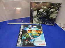 PS 1 Game  Speed Ball Case & Booklet Only No Game