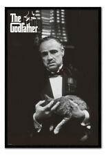 The Godfather Poster FRAMED CORK PIN BOARD With Pins | UK Seller