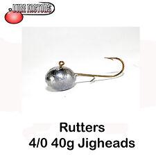 jigheads 4/0-40g Roundheads c/w shad retaining wire