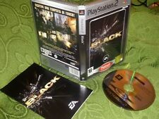 BLACK - PS2 PLAYSTATION 2 PAL PRIMA STAMPA