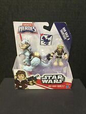 HAN SOLO & TAUNTAUN Star Wars Galactic Heroes Figurines Disney