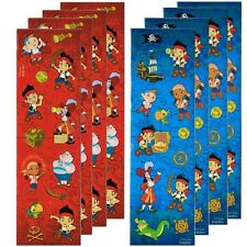 Jake And The Never Land Pirates 8 Sticker Strips