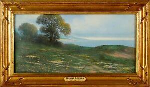 Harry Linder -Palos Verdes Peninsula -1920s California Impressionist Painting