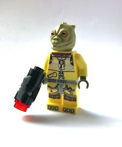 LEGO Star Wars Minifigure Bossk Bounty Hunter & Stud Blaster 75167 **New**