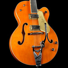 Gretsch G6120T-59GE Vintage Select 1959 Chet Atkins Bigsby Guitar Orange Stain
