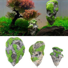 Tank Decoration Floating Stone Suspended Rock Simulation Moss Artificial Pumice