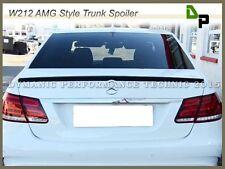 #040 Black Color AMG Style Trunk Spoiler For M-BENZ 10-15 W212 E250 E350 E550