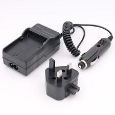 MAINS Charger for PANASONIC LUMIX DMC-FS16 DIGITAL CAMERA Battery HOUSE + CAR UK
