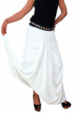 Unbranded Patternless A-line Casual Skirts for Women