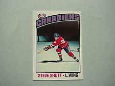 1976/77 O-PEE-CHEE NHL HOCKEY CARD #59 STEVE SHUTT EX/NM SHARP!! 76/77 OPC